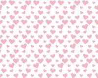 Valentine pale pink seamless polka dot pattern Stock Photography