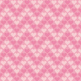 Valentine pale pink seamless polka dot pattern Royalty Free Stock Photo