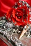 Valentine-parels royalty-vrije stock fotografie