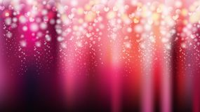Valentine party background with hearts. Vector Royalty Free Stock Photography
