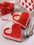 Valentine pastry Royalty Free Stock Photo