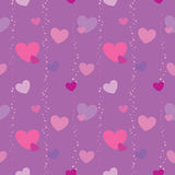 Valentine pattern 1 Royalty Free Stock Images