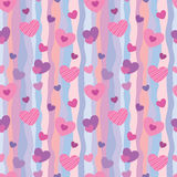 Valentine pattern 1 Royalty Free Stock Photos