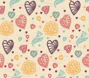 Valentine Pattern Imagen de archivo