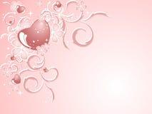 Valentine pattern Stock Image