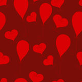 Valentine pattern Stock Photo