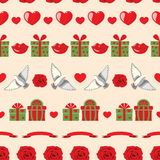 Valentine pattern Royalty Free Stock Photo