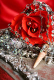 Valentine pearls Royalty Free Stock Photography