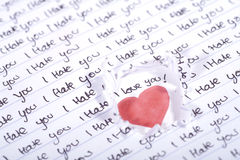 Valentine Photo Concept: Still Loving You Royalty Free Stock Images