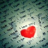 Valentine Photo Concept: Still Loving You Royalty Free Stock Photos