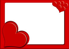 Valentine photoframe4 Royalty Free Stock Images