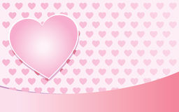Valentine pink background Royalty Free Stock Image