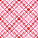 Valentine Plaid Royalty Free Stock Images