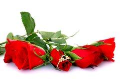 Valentine present Stock Image
