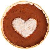 Valentine pudding Royalty Free Stock Photo