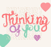 Valentine quote background Royalty Free Stock Image