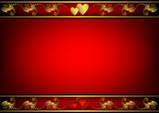 Valentine Red Background Royalty Free Stock Image
