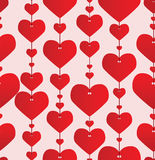 Valentine Red Background Stock Photo