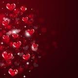 Valentine Red Background astratto Fotografia Stock