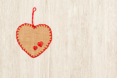 Valentine red hearts Stock Photo
