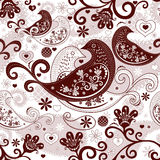 Valentine repeating pattern Stock Photo