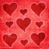 Valentine retro background royalty free stock photos