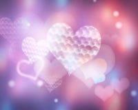 Valentine romantic wedding illustration background. Royalty Free Stock Photo