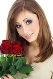 Valentine Rose Stock Image
