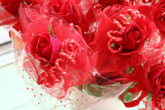 Valentine roses Royalty Free Stock Image