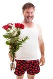 Valentine Roses voor u royalty-vrije stock afbeelding