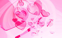 Valentine's abstract Royalty Free Stock Photos