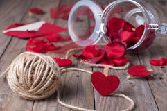 Valentine's accessory Royalty Free Stock Image