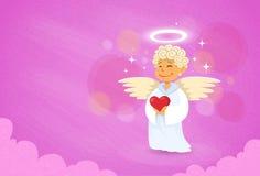 Valentine's Angel Cupid Saint Valentine Holiday Royalty Free Stock Image