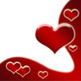 Valentine's background Stock Photography