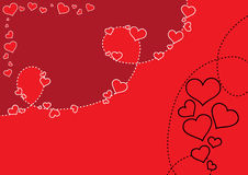 Valentine's Background. Vector valentine's day background Royalty Free Stock Images