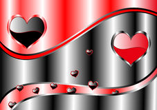 Valentine's background. For card, brochure, template, banner Royalty Free Stock Images