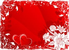 Valentine's background royalty free illustration