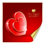 Valentine's background Royalty Free Stock Image