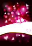 Valentine`s background Stock Photo