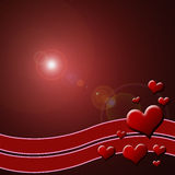 Valentine's background. Valentine's day background useful as postcard or greeting card Royalty Free Stock Images