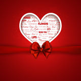 Valentine's Background Royalty Free Stock Photography
