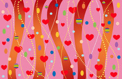 The Valentine's background. Stock Photography