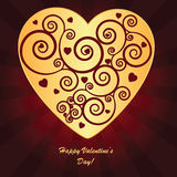 Valentine's background Stock Images