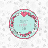 Valentine`s Background Stock Photography