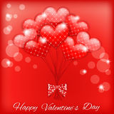 Valentine`s background with heart. Stock Photo
