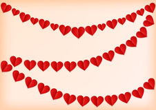 Valentine`s background with heart. Royalty Free Stock Photo