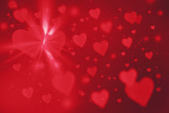 Valentine`s background Stock Photography
