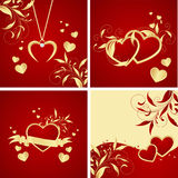Valentine's backgrounds Stock Photos