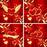 Valentine's backgrounds royalty free illustration