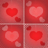 Valentine's backgrounds Royalty Free Stock Images